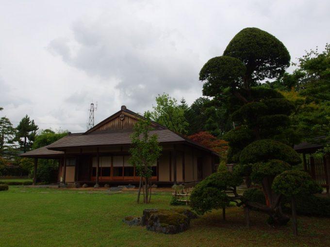 弘前藤田記念庭園茶屋