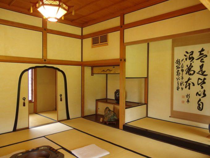 弘前藤田記念庭園和館室内