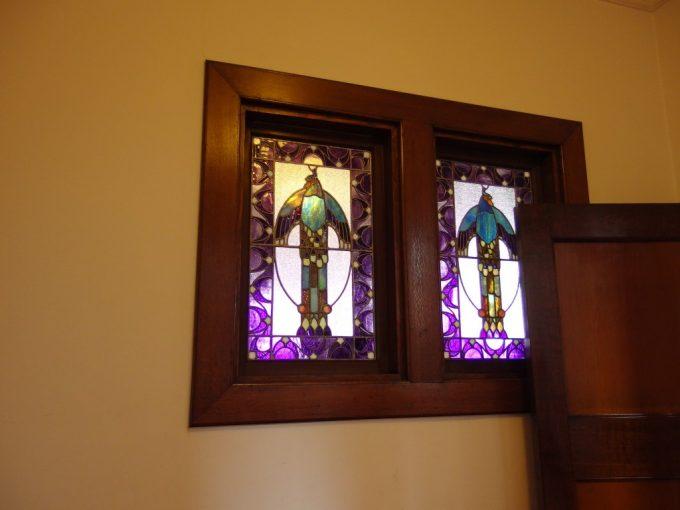弘前藤田記念庭園洋館のステンドグラス