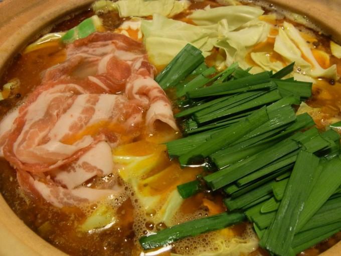 鶏がらスープの麻辣鍋