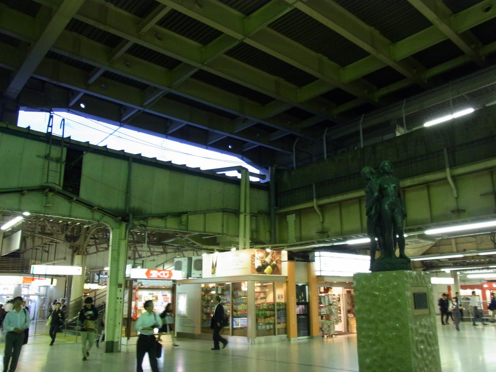 東京駅北の玄関口上野駅