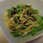 いかの塩昆布〆ゆず胡椒の香り・いかと砂糖ざやのごまたま塩麹炒め