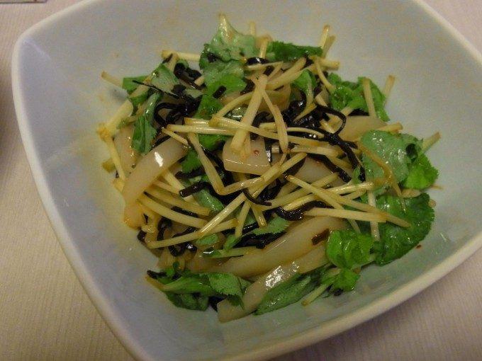 いかの塩昆布〆ゆず胡椒の香り