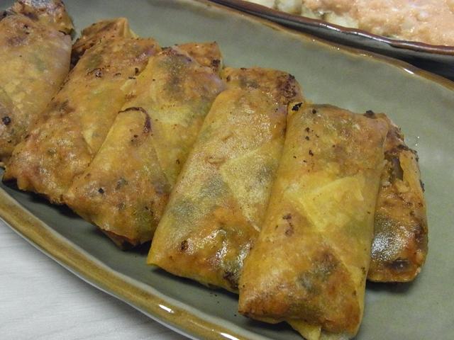 夏野菜のラタトゥイユ風ピリ辛春巻き
