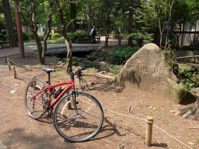 井の頭池神田川上流端