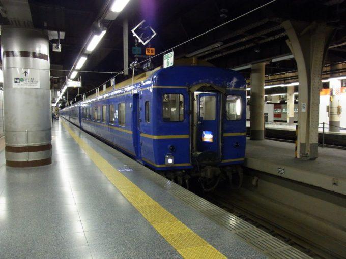 上野駅あけぼの号入線