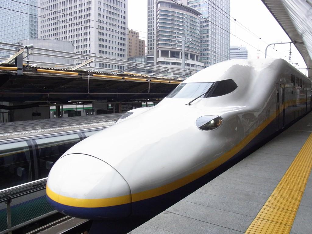 E4系Maxで仙台へ