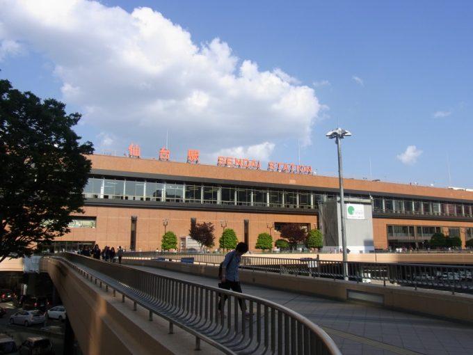 初夏の仙台駅
