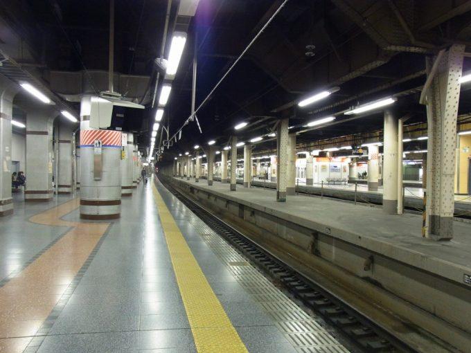 かつての旅立ちの場所上野駅13番線ホーム