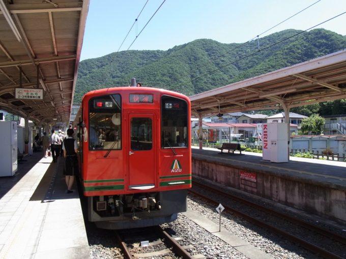 会津鉄道オリジナルのAIZUマウントエクスプレス