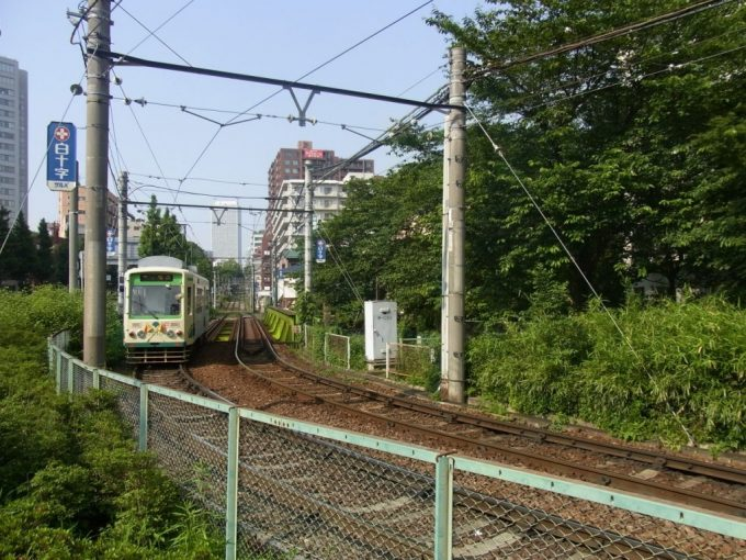 神田川を渡る唯一の都電荒川線