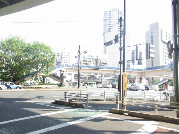 中央線と神田川に沿ってサイクリング