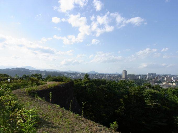 青葉城から眺める宮城の山々