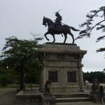 仙台青葉城跡伊達政宗公銅像