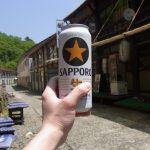 新緑の夏油湯上がりに最高のビールを