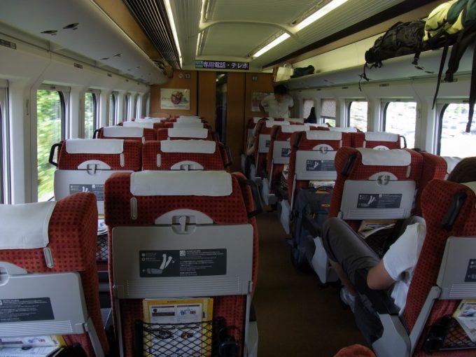 山形新幹線E3系つばさ車内