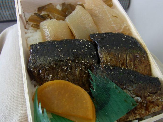 函館駅弁鰊みがき弁当中身