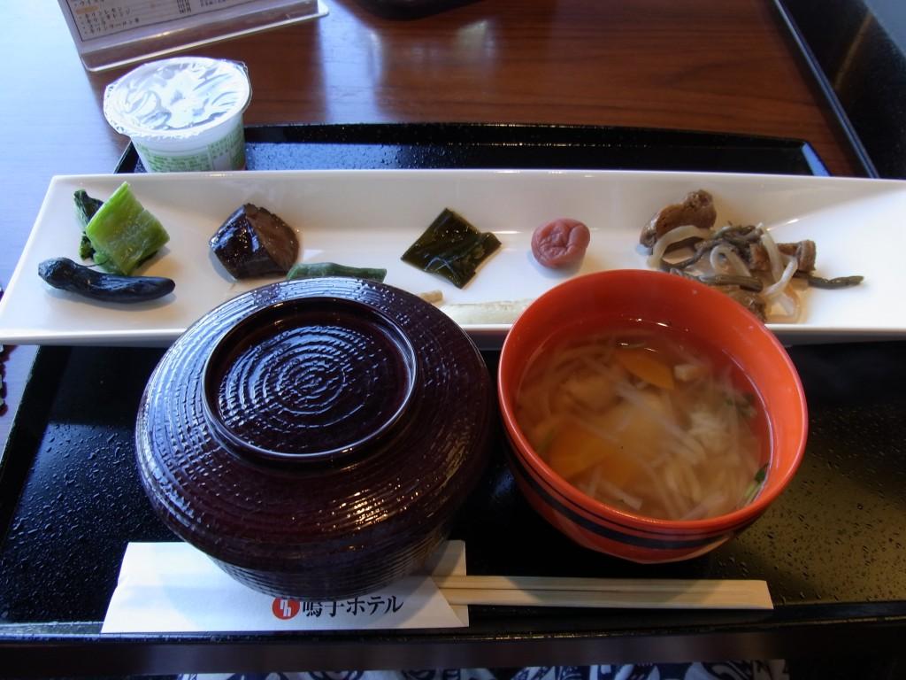 鳴子ホテル朝食