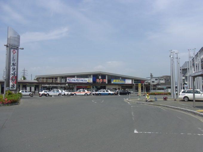 初夏の花巻駅