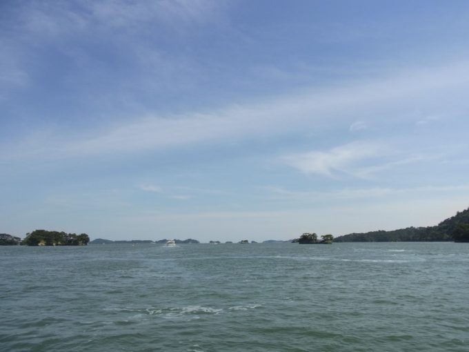 松島島めぐりにいざ出航