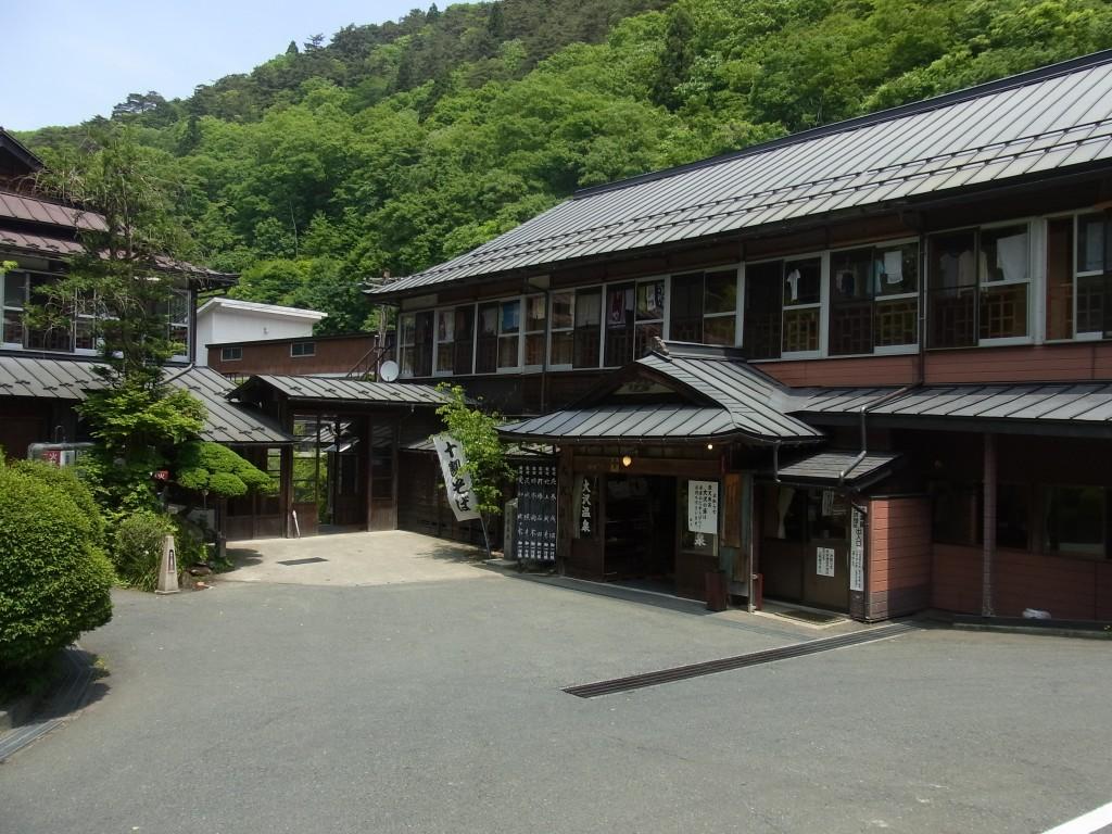 江戸時代の建物大沢温泉自炊部