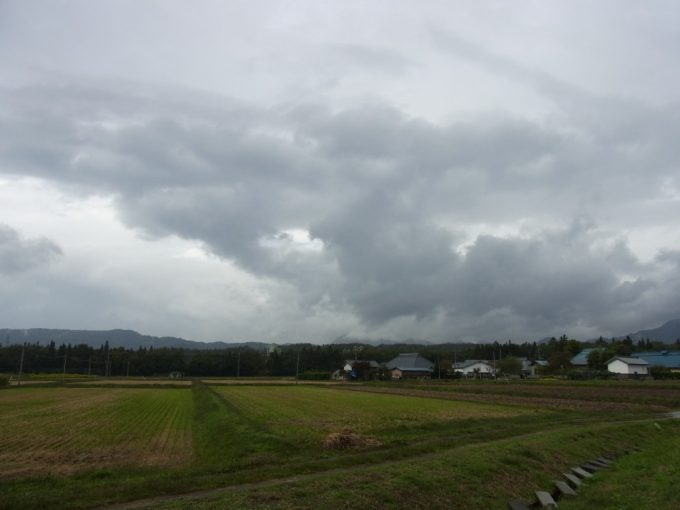 秋の会津田園風景