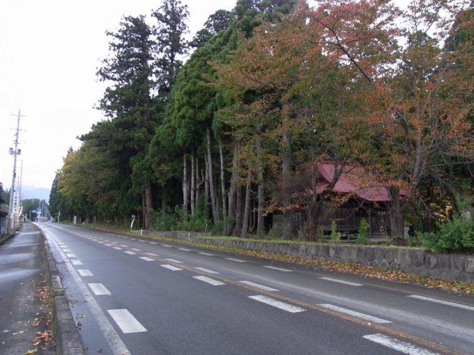 秋の会津喜多方神社と里の風景