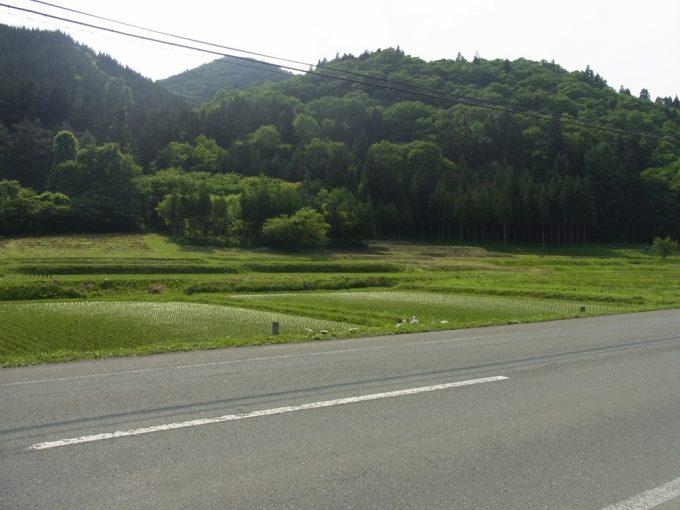 花巻の長閑な田園
