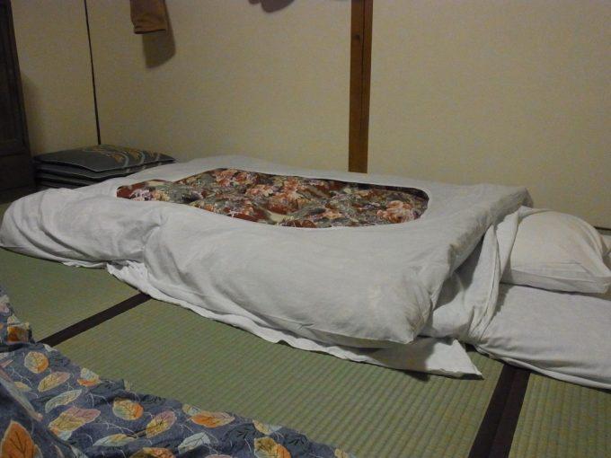 大沢温泉初湯治寝床が僕の居場所