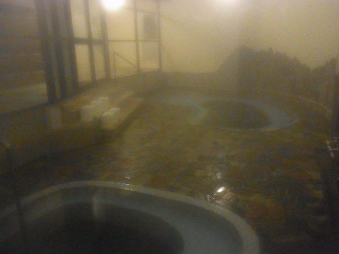 渋い雰囲気が漂う大沢温泉自炊部薬師の湯