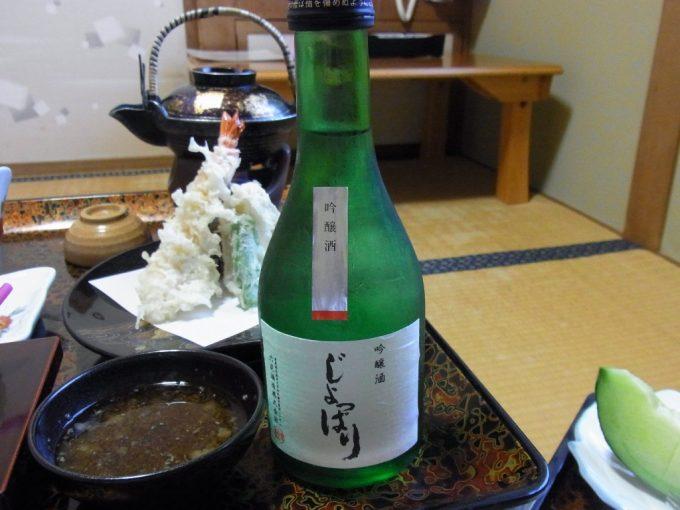 青森嶽温泉小島旅館夕食のお供にじょっぱり