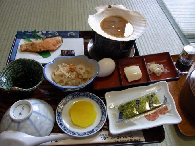 青森嶽温泉小島旅館朝食
