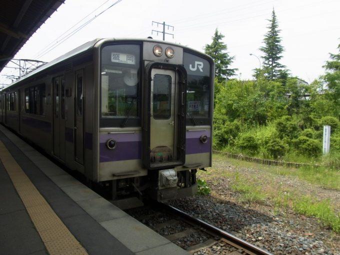 東北本線701系ローカル列車