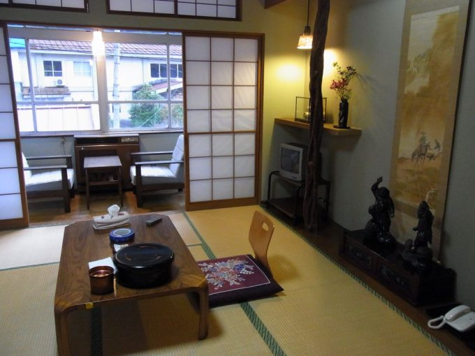 会津喜多方熱塩温泉ますや旅館客室