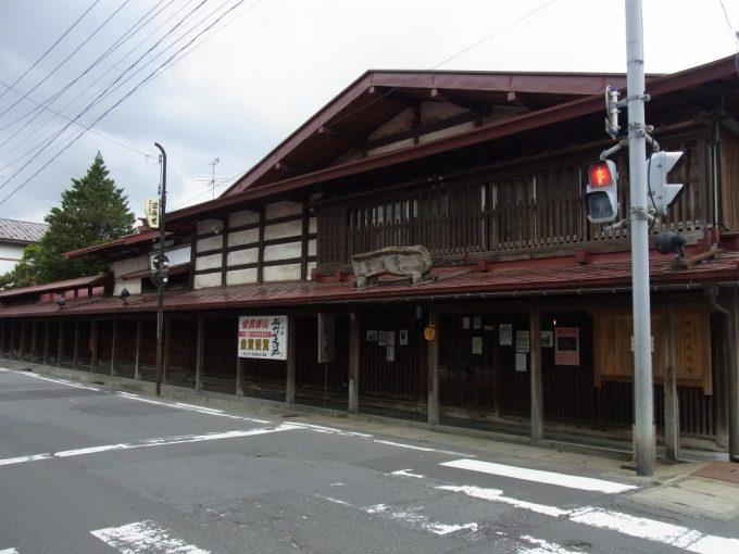 黒石こみせ通り鳴海醸造店
