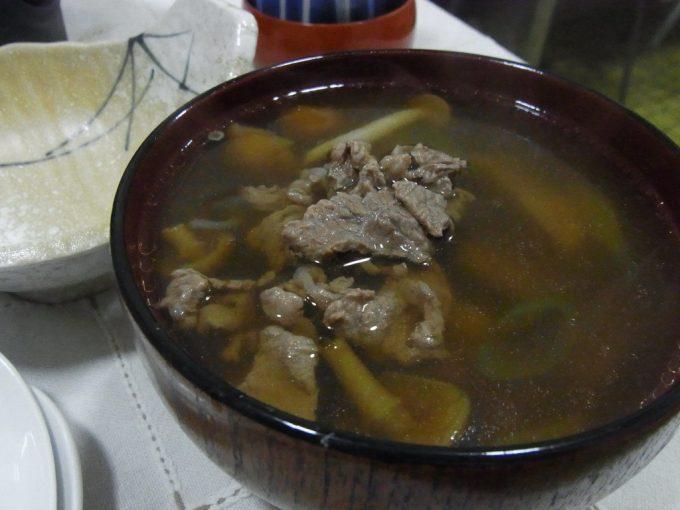 会津喜多方熱塩温泉ますや旅館芋汁