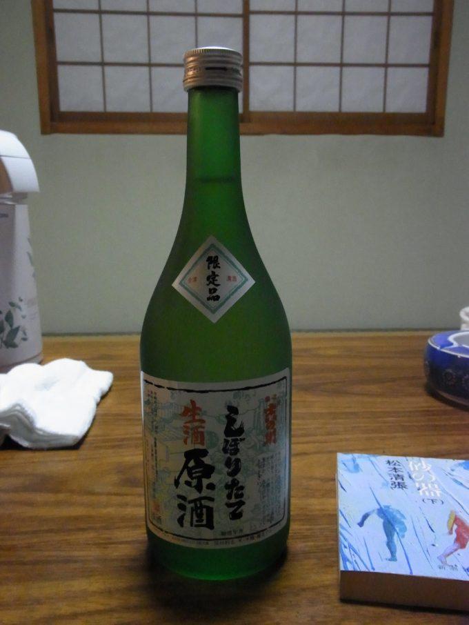 吉の川しぼりたて生酒原酒