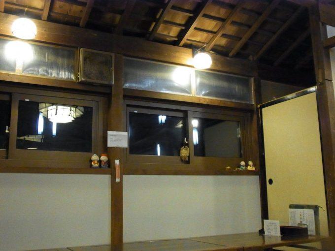 岩手花巻南温泉峡大沢温泉木の温もりがある食堂やはぎ