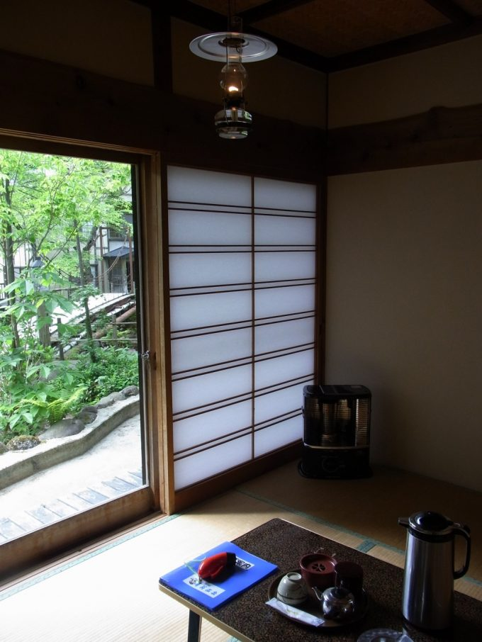 秘湯ランプの宿青荷温泉離れふるさと館客室