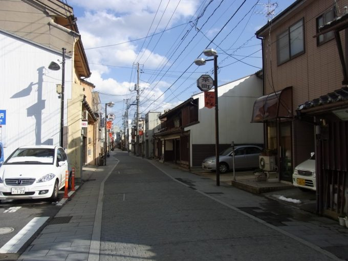 松江の古きよき町並み