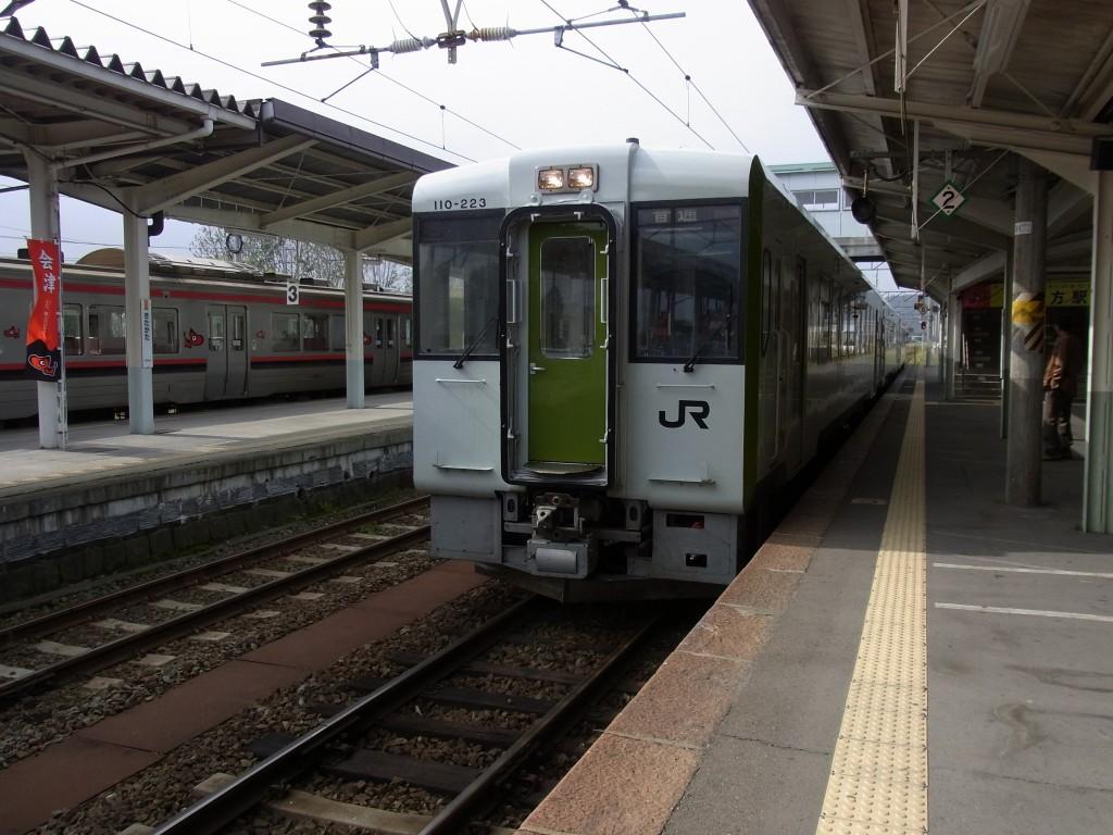 磐越西線キハ110