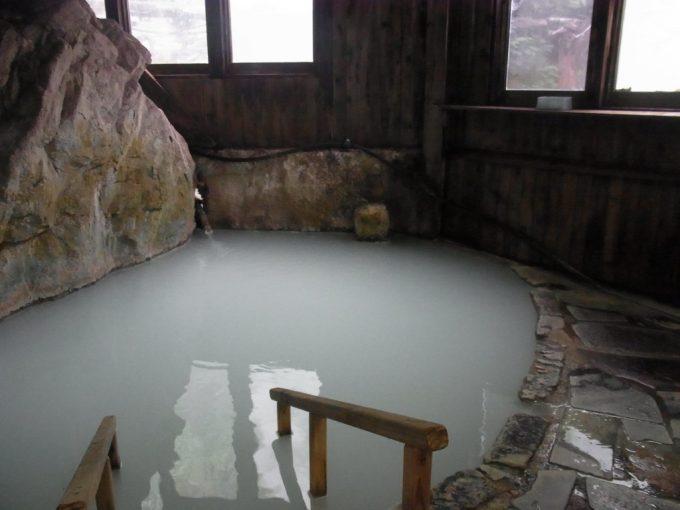 松川温泉松楓荘白いにごり湯
