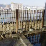 松江野津旅館松江しんじ湖温泉使用の露天風呂