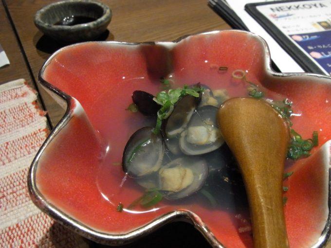 松江てまひま料理根っこや特大大和しじみ酒蒸し