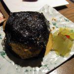 松江てまひま料理根っこや絶品!十六島(うっぷるい)海苔のおにぎり