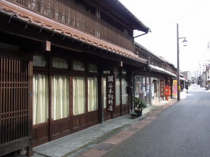 古きよき倉吉の軒が連なる街並み