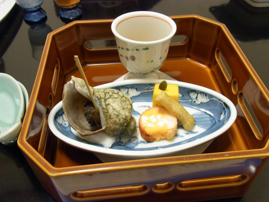 函館湯の川プリンスホテル渚亭前菜