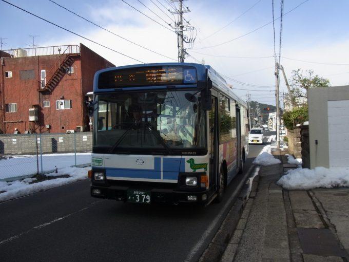 日ノ丸自動車三朝行き