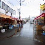 函館朝市食べ歩きできる通り