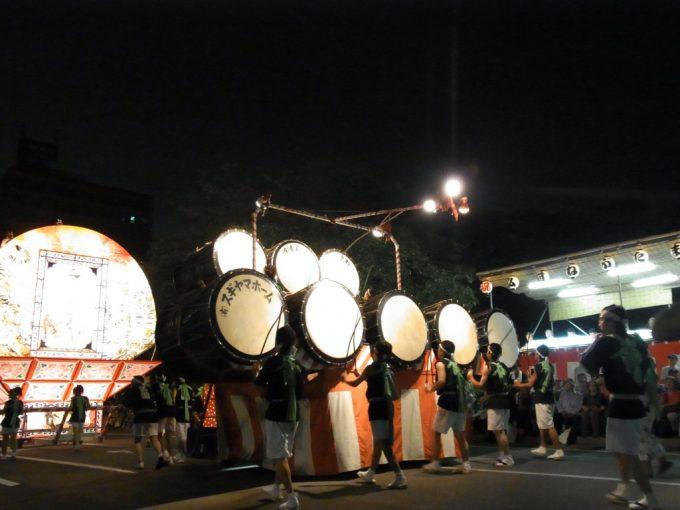 弘前ねぷた独特の太鼓のリズム